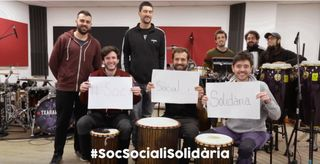Videoclip #SocSocialiSolidària
